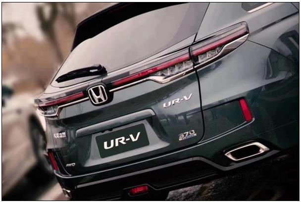 前脸大变!新款本田UR-V发布:更大更精致