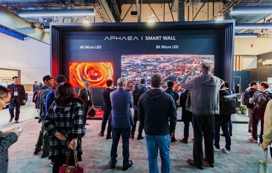 康佳Smart Wall产品参展 可实现2K/4K/6K/8K分辨率