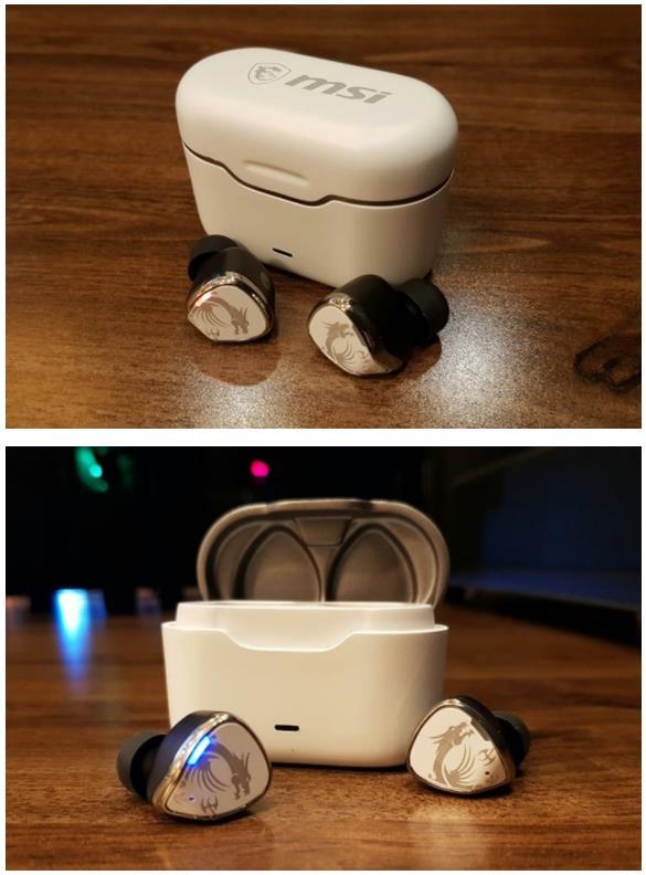 微星推出CH40无线耳机 搭配充电盒可播放约24小时