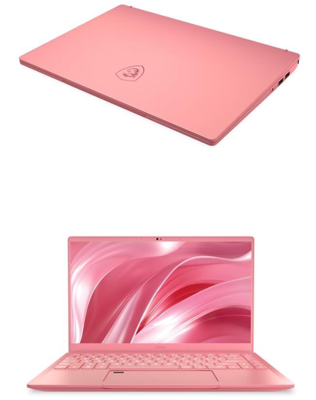 微星推出Prestige 14粉色版 搭载14英寸4K UHD显示屏