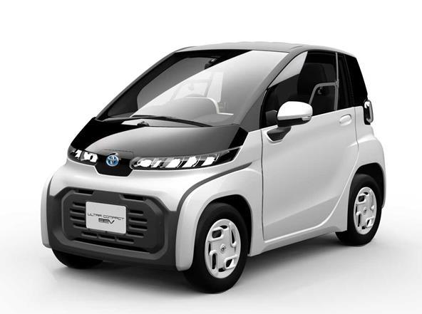 丰田汽车或将推出纯电动Ultra-compact BEV量产版 拥有约100km续航+60km/h极速