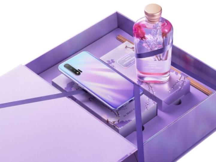 华为nova6 5G野兽派情人节限定礼盒今日开售 支持40W快充售价4199元