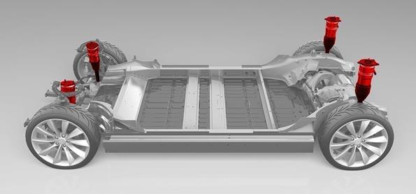特斯拉否认Model 3/Y搭载空气悬架 称不希望减少Model 3与Model S的差距