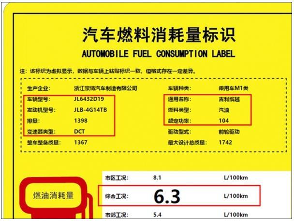 吉利缤越新增四缸增压发动机:功率油耗同步下降