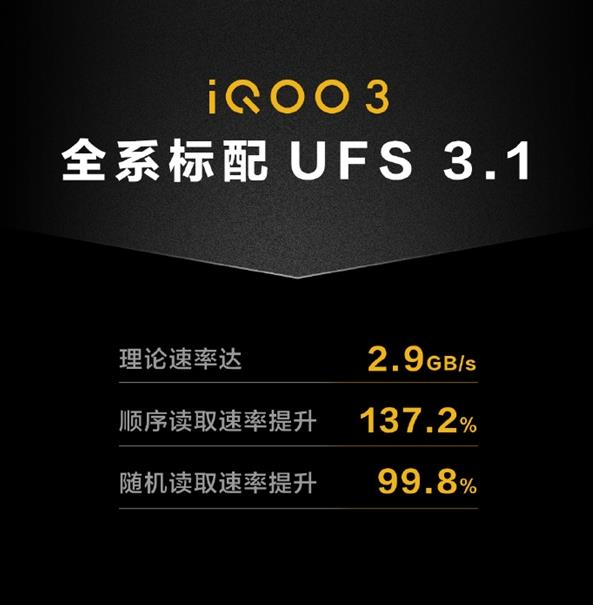 全系驍龍865+LPDRR5+UFS 3.1!iQOO 3性能跑分公布