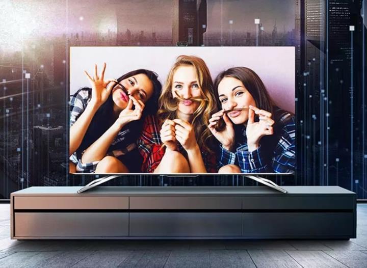 海信推出社交电视云享版 拥有1080P视频通话+支持口红试色